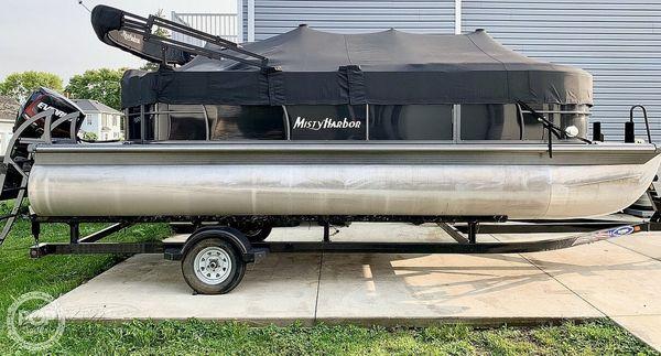 Used Misty Harbor Biscayne Bay 2085 Pontoon Boat For Sale