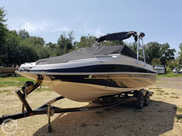 Used Tahoe 228 Fish and Ski Deck Boat For Sale
