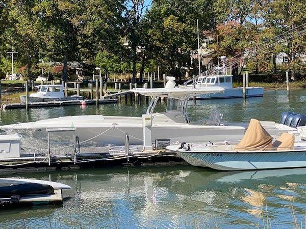 Used Jupiter 38 Cuddy Cabin Boat For Sale
