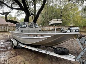 Used Scullys 2072 MV1 Aluminum Fishing Boat For Sale