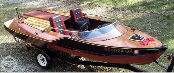 Used Custom Built 14 Runabout Boat For Sale