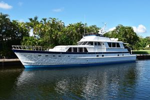 Used Burger Flybridge Motoryacht Flybridge Boat For Sale