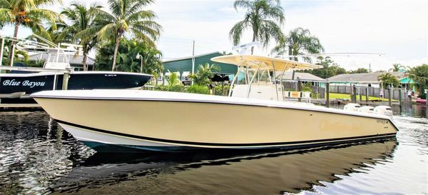 Used Venture 39CC Center Console Fishing Boat For Sale