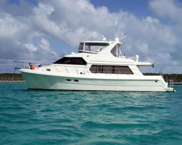 Used Hampton 558 Pilothouse Boat For Sale