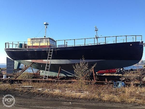 Used Custom 56 Motorsailer Sailboat For Sale