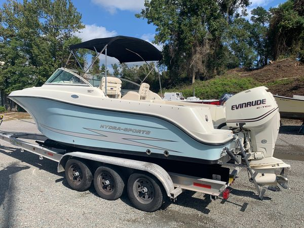 Used Hydra-Sports 2200 DC Saltwater Fishing Boat For Sale