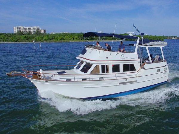 Used Albin 43 SUNDECK TRAWLER Aft Cabin Boat For Sale