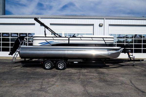 New Godfrey SW 2486 SB iMPACT 29 in. Center Tube Pontoon Boat For Sale