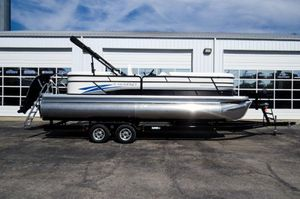 New Godfrey SW 2486 SB iMPACT 29 in. Center Tube Pontoon Boat For Sale