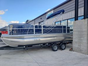 New South Bay 222FCR LE 2.75 Pontoon Boat For Sale