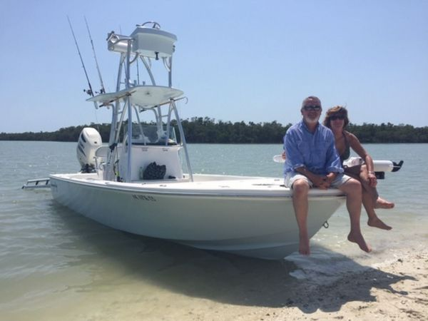 Used Canyon Bay 24 H Center Console Fishing Boat For Sale