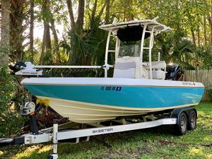 Used Skeeter SX 2250 Center Console Fishing Boat For Sale