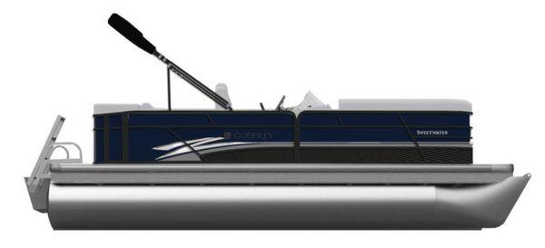 New Godfrey SW 2286 SB iMPACT 29 in. Center Tube Pontoon Boat For Sale