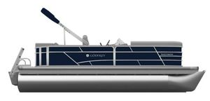 New Godfrey SW 2486 SB iMPACT Plus 29 in. Center Tube Pontoon Boat For Sale