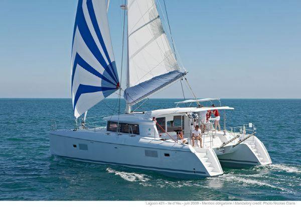 Used Lagoon 421 Multi-Hull Sailboat For Sale