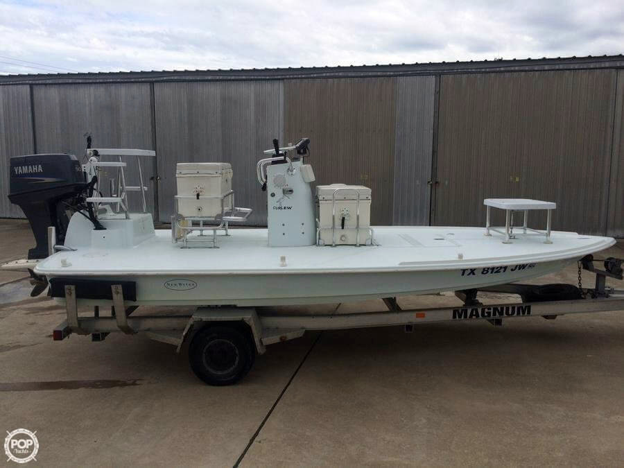 2003 used new water curlew 17 flats fishing boat for sale for Fishing boats for sale in texas