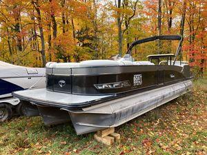 Used Tahoe 2785 Cascade Platinum Entertainer Pontoon Boat For Sale
