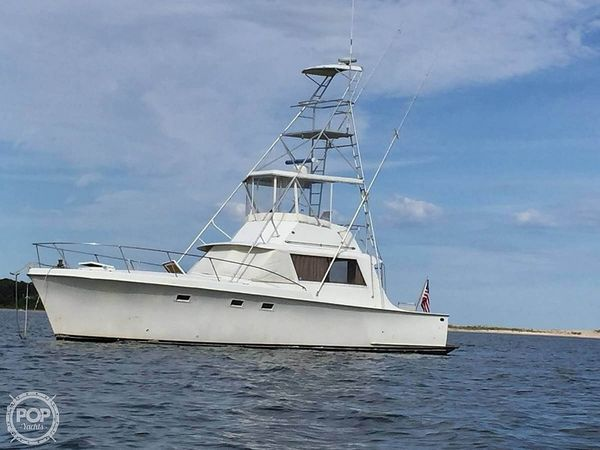 Used Hatteras 41' Convertible Sports Fishing Boat For Sale