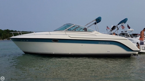 Used Carver Allegra 2587 Express Cruiser Boat For Sale