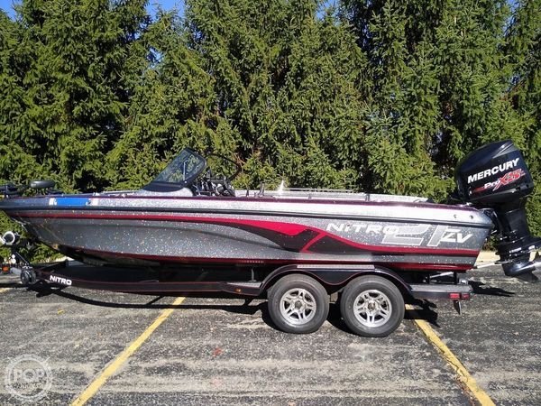 Used Nitro ZV21 Bass Boat For Sale