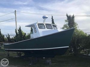 Used Pickerel 32 Downeast Fishing Boat For Sale