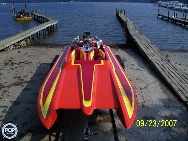 Used Tom Papp Stealth 18 Edge Jet Boat For Sale