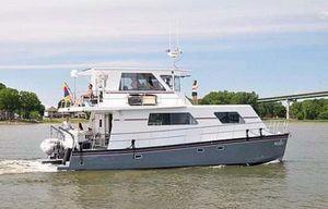 Used Custom Artisanal Power Catamaran Power Catamaran Boat For Sale