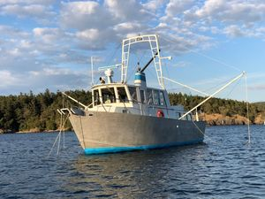 Used Ted Brewer Custom 41 Trawler Boat For Sale
