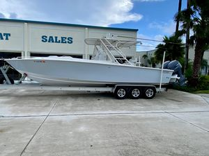 Used Jupiter 31 Walkaround Fishing Boat For Sale