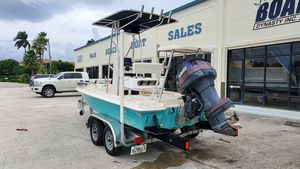 Used Key West 1760 Stealth Flats Fishing Boat For Sale