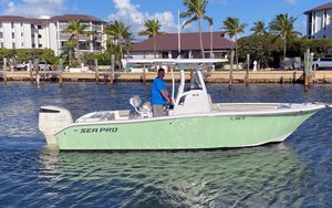 Used Sea Pro 239CC Center Console Fishing Boat For Sale