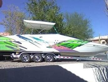 Used Advantage 32 Victory High Performance Boat For Sale
