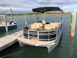 Used Harris Flotebote 200 Sunliner Pontoon Boat For Sale