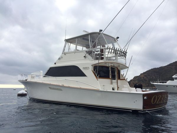 Used Ocean Yachts 55 Supersport Convertible Fishing Boat For Sale