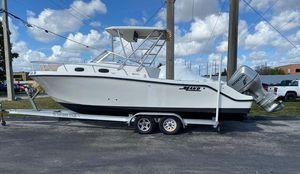 Used Mako 253 Walk Around Walkaround Fishing Boat For Sale