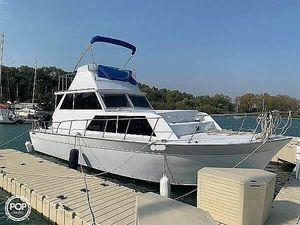 Used Marinette 32 Sedan Cruiser Boat For Sale
