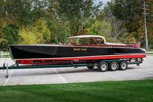 Used Gar Wood 33 Baby Gar Antique and Classic Boat For Sale