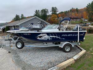 Used Polar Kraft v180 Ski and Fish Boat For Sale