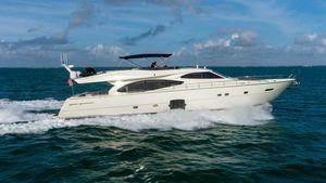 Used Ferretti Yachts 780 Fly bridge Motor Yacht For Sale
