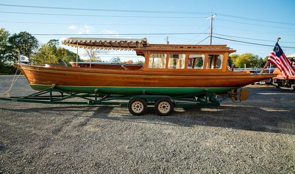 Used Antique Peter Freebody Victorian Antique and Classic Boat For Sale