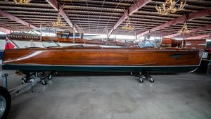 Used Antique Minett Sheilds Triple Cockpit Runabout Antique and Classic Boat For Sale