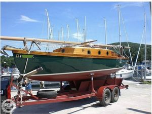 Used Kunston 26 Sloop Sailboat For Sale