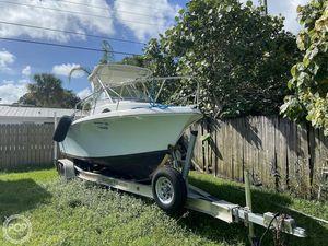 Used Sailfish 218 WA Walkaround Fishing Boat For Sale