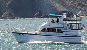 Used Hershine 42 Sundeck Motor Yacht Aft Cabin Boat For Sale