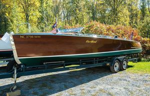 Used Gar Wood Triple Cockpit Roundabout Antique and Classic Boat For Sale
