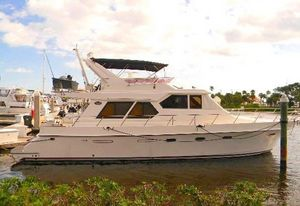 Used Symbol 557 Pilothouse Yacht Pilothouse Boat For Sale