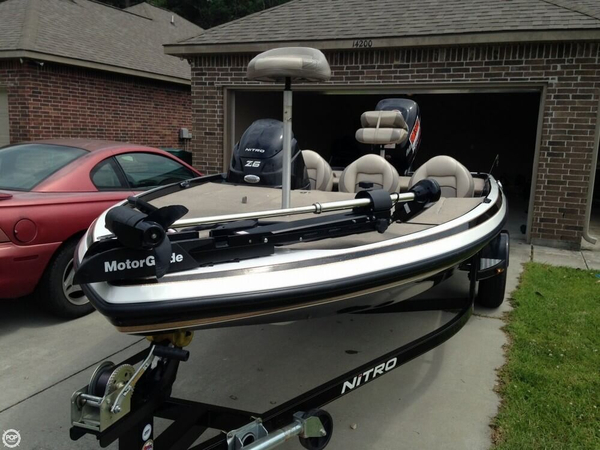 Used Nitro Z-6 Bass Boat For Sale