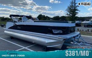New Tahoe 2385 Cascade Quad Lounger w/Suzuki 200hp Motor Pontoon Boat For Sale
