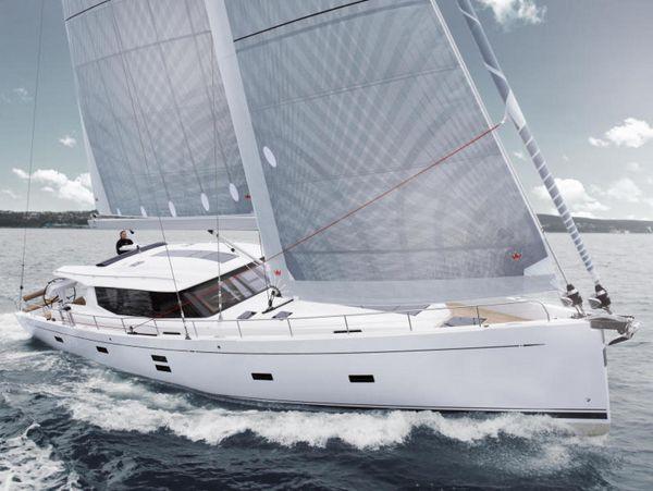 New Moody 54 Decksaloon Cruiser Sailboat For Sale