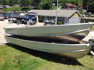 New Smoker Craft 14 Canadian Ski and Fish Boat For Sale